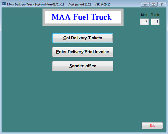 Fuel Truck System MicroAnalyst Associates Inc - Invoice delivery system